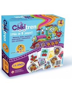 """El ChikiTren """"Mi primer juego de mesa"""""""