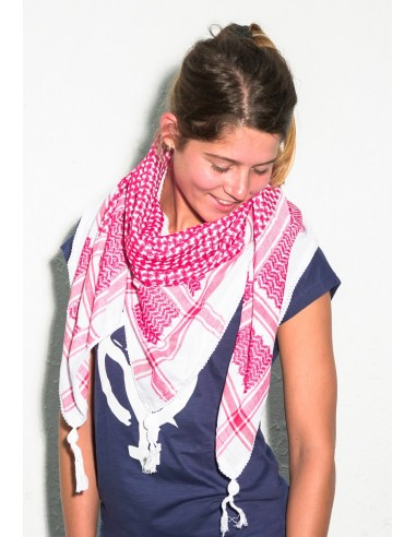 Pañuelo palestino autentico (Kufiya) Rojo