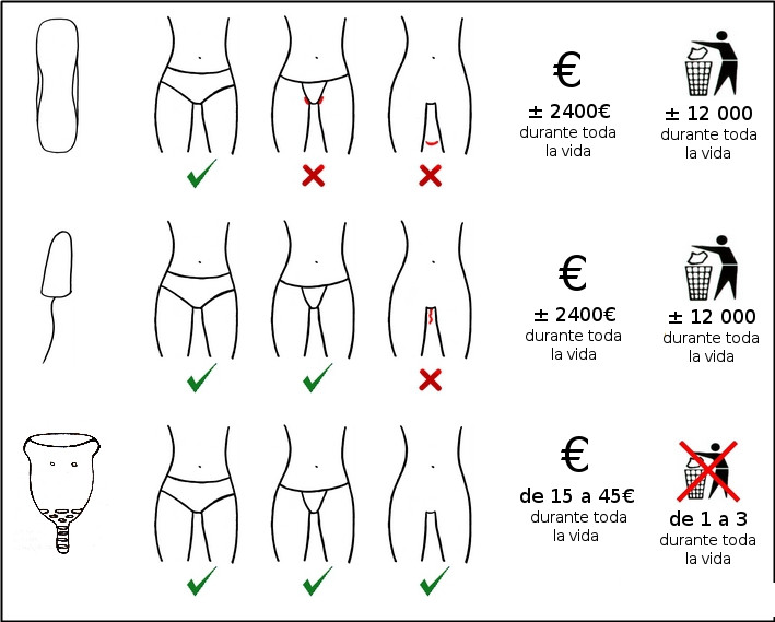 Copa menstrual ecológica