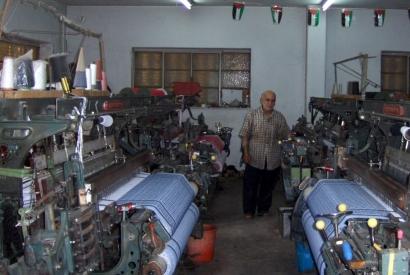 Hirbawi, la última fabrica de pañuelos de Palestina