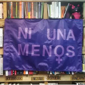 Bandera Ni una menos