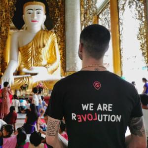 Camiseta solidaría