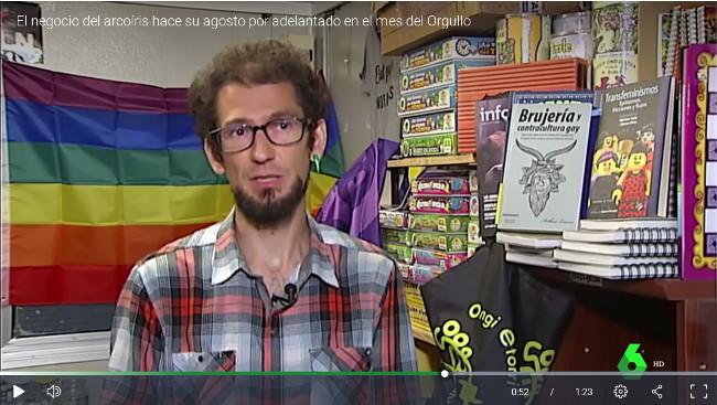 Entrevista en la Sexta de la Tienda Comprometida
