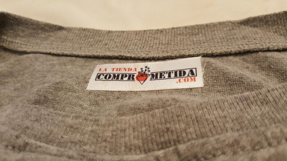 Camiseta en algodón orgánico al por mayor