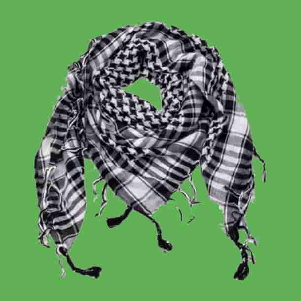Pañuelos palestinos auténticos