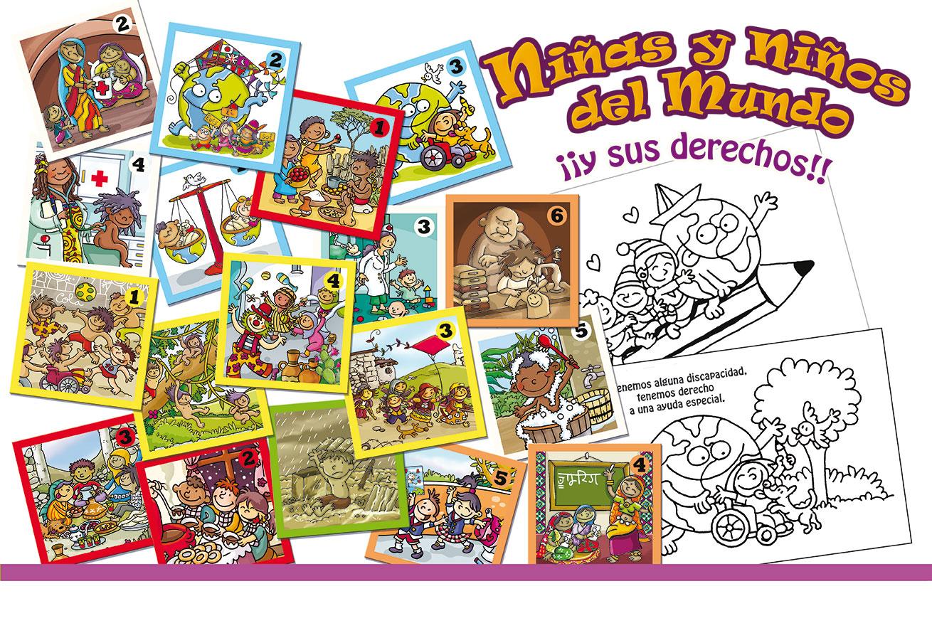 Niños del mundo Juego cooperativo infancia