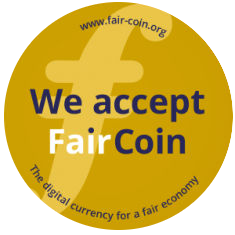 Aceptamos pagos en FairCoin