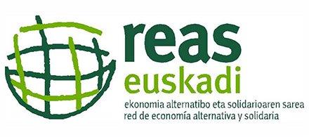 Logo REAS, economia solidaria
