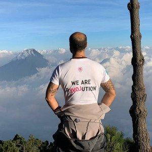 Camiseta ética para viajes solidarios