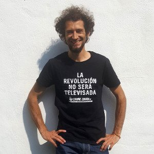 Camiseta en algodón ecológico de Carne Cruda